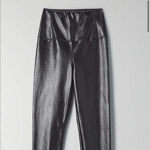 Aritzia Pants - Aritzia vegan leather daria legging